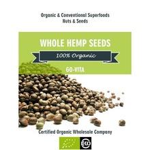 Organic Hemp Seeds Whole