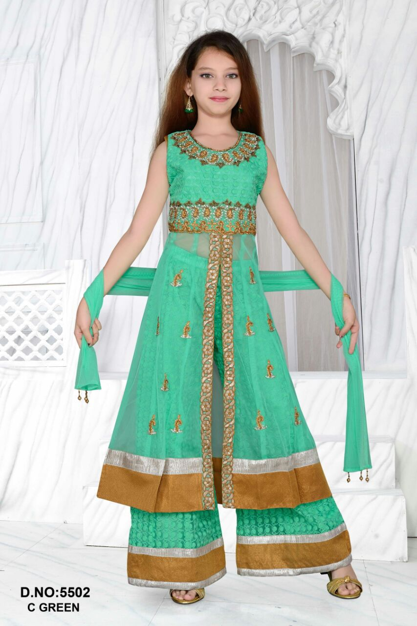 pakistani plazo style long suits for girls2015 buy