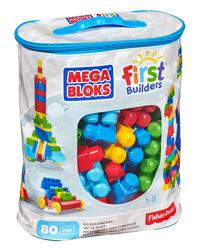 Mega Bloks First Builders Big Building Bag, 80-Piece (Classic)