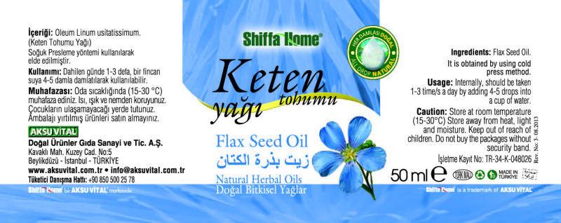 la semilla de lino petróleo 50 ml aceite de masaje certificada gmp