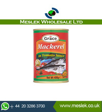 Grace Mackerel In Tomato - Wholesale Grace