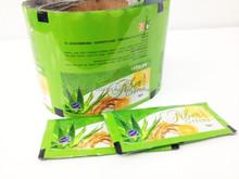flexible custom design roll film, color printing plastic roll film for bio health, metalized laminated food roll film sealing