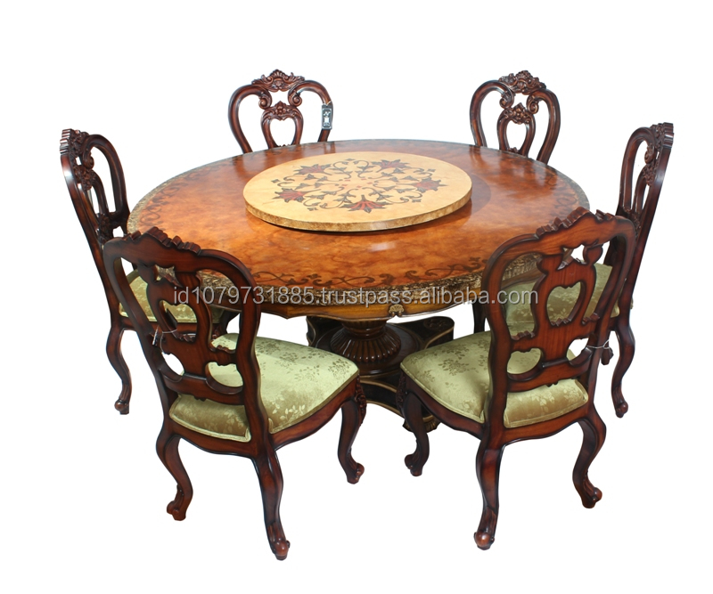 georgian round table dining set 4 chairs buy round dining table