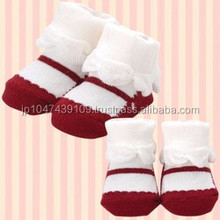 Japanese wholesale products cute and high quality infant wear kids clothes baby and toddler made in japan socks like shoes