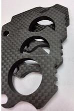 Custom cnc precision parts OEM cnc machining carbon fiber cutting