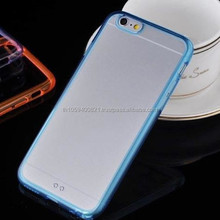 Manufacturer Wholesale With Screen Portecter 2 in 1 TPU Mobile Phone Case for Iphone 6