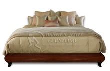 Modern bedroom furniture storage bed