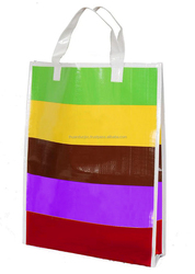 CHEAPEST PRICE PP WOVEN SHOPPING BAG FOR RICES, BEANS,CORN,.....