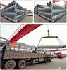 Galvanized steel pipe as scaffolding