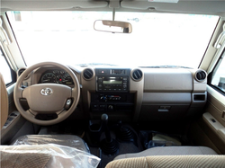 Toyota hardtop HZJ76 Special 2015 model