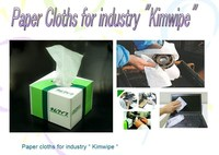 "cleaning wipe "" Kimwipe "" , for cleaning industly equipment"