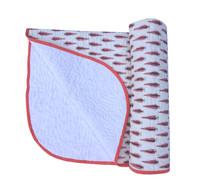 Kantha Work Reversible Hand Block Printed Baby Quilt