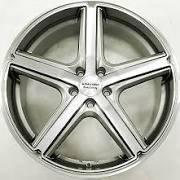 Racing Maverick 20 X 8.5 Grey Rims Wheels Dodge Dart 5h