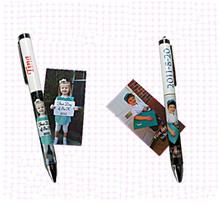 Wholesale decorative sublimation pen, promotional customized sublimation clip pen