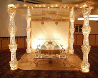 wedding mandap/indian wedding mandap designs/wedding crystal mandaps