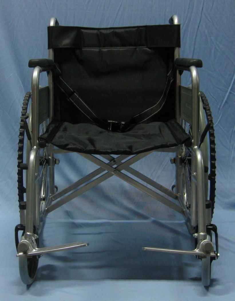 Solid tyre wheelchair p1