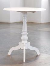 Gustavian pillar coffee table
