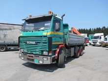 Used Scania R 113 6X2 Tipper With Crane - Left Hand Drive - Stock no: 13006