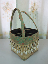 Vietnam lady fashion bead bag