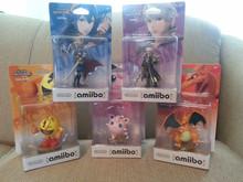 Brand New Amiibo Nintendo Wave 4 US Lucina, Robin, Jigglypuff, Pac-Man, Charizard