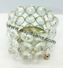 Crystal Candle Holder For Valentine's Day Gifts