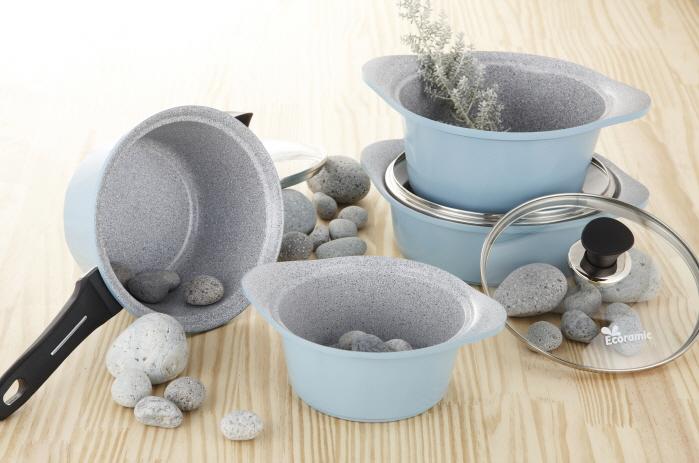 Ecoramic Marble Ceramic Cookware Buy Korea Ceramic