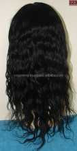 Virgin Remy Curly hand tied weft hair
