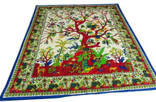 Indian wall Hanging tapestry Wall Decor Throw Tapestry Ethnic Bedspread Bed Cover Indian Manufacturer Wholesaler