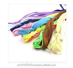 57 Colors Charm Shoelace, Woman Man Colorful Flat Shoelace for Sport Shoes Wholesale
