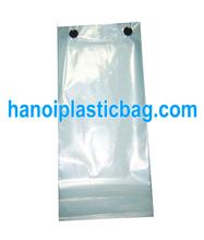Custom printed logo wicket plastic bag for shoping/chicken packaging