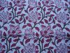 RTHCF-160 Hand block floral printed Sanganeri 100% cotton cambric running fabric wholesaler and manufacturer