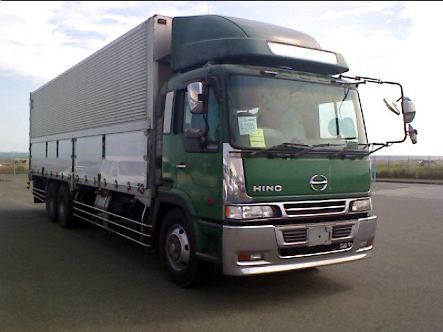 1998 Hino Profia Aluminium Wingbody Truck / Kc-fr1kzda / 14 Ton ...