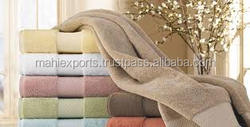 Soft luxury towel set 600 gsm 100% egyptian cotton bath hand towels