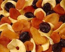 Sliced Dried Fruits.