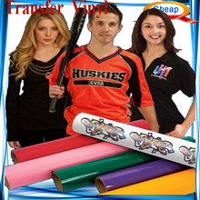 PU high gloss vinyl ,Tranfer flex vinyl sticker printer ,vinyl sticker roll For Basketball Apparel