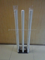 WOODEN CRICKET STUMPS AND BAILS / CUSTOM MADE WOODEN CRICKET STUMPS AND BAILS