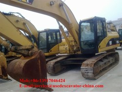 Used CAT 325C/325CL excavator for sale,originally from Japan