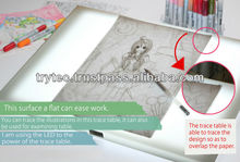 TREVIEWER is the superior led light table/board/pad for all of painters, animators, and cartoon