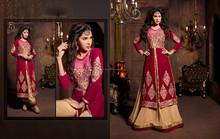 diseñador indio anarkali salwar traje de moda de bollywood