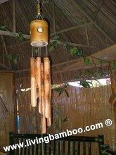 Ben TRE de bambú de la puerta de la decoración
