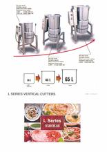 L- Series Vertical Cutter/Mixer