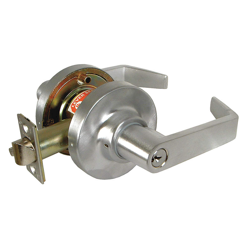 Door Lever Lockset Entry Less Cylinder Buy Doorknobs Lock Sets Produc