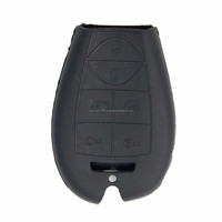Silicone Jacket Smart Key Remote Cover for Dodge and Chrysler