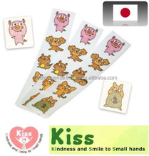 Illustrated and pretty surgical tape as token of prize for children, made in Japan