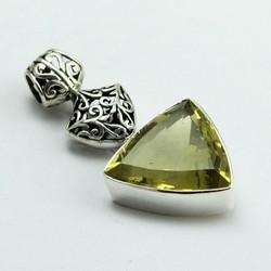 Floating In The Breeze !! Lemon Topaz 925 Sterling Silver Pendant, Silver Jewellery 925, Sterling Silver Jewellery