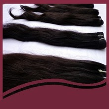 Indian Natural humanhair weft with factory price directlysale