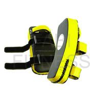 Yellow and Black Thai Kick Pads