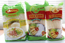 PLAIN RICE NOODLE IN DRY 500G/ PACK- THIEN HUONG FOOD COMPANY