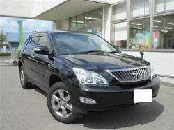 Toyota Harrier 240G L pack Alcantara ACU30W 2012 Used Car