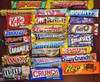 Bounty,Maltesers,Snickers Miniatures,Snickers,Quality Street,Kinder,power bar